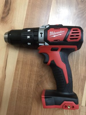 Milwaukee M18 18-Volt Lithium-Ion Cordless 1/2 in. Hammer Drill/Driver (Tool-Only) for Sale in Everett, WA
