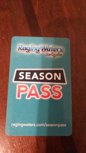 Raging water season pass for Sale in Pomona, CA
