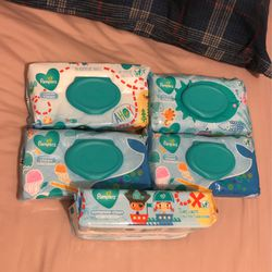 Pampers Wipes , 72 each Package all for $12 firm on Price for Sale in Keizer,  OR