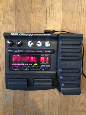 Zoom GFX-707 Guitar effects processor for Sale in San Ramon, CA