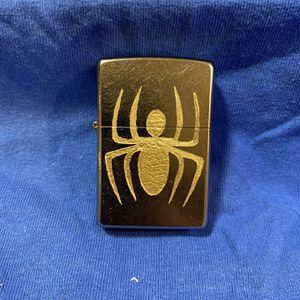 Zippo Chrome Spider-Man Logo for Sale in Cut Off, LA