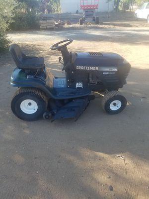 "Craftsman lt1000 15hp 42"" deck riding lawnmower lawn mower for Sale in Perris, CA"