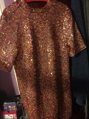 H&M Rose Gold Sequin Dress for Sale in Philadelphia, PA