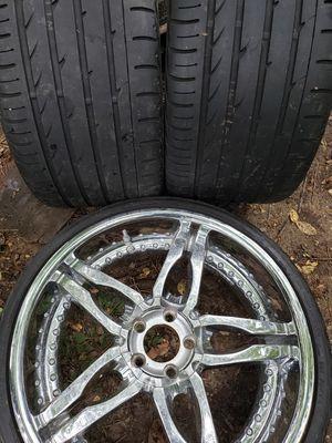 Cheap rims rim 20 chrome Honda Toyota for Sale in Annandale, VA