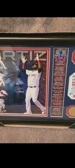 David Ortiz Boston Red Sox Sports Memorabilia Limited Edition Low Number for Sale in New York,  NY