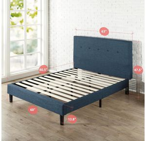 Queen bed frame and mattress for Sale in Seattle, WA