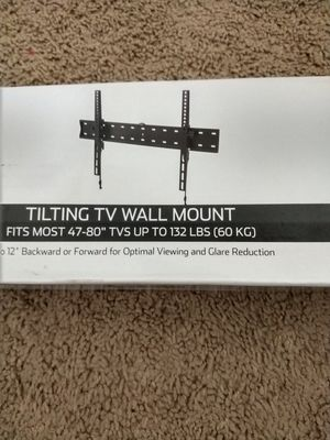 Tilt tv mount , tv wall mount 32 to 80 inch for Sale in Plano, TX