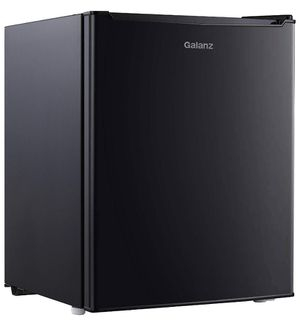 Galanz 2.7 cu ft Reversible Single Door Refrigerator, Black for Sale in Annandale, VA