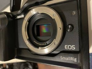 Canon EOS M100 Mirrorless Camera, SmallRig, EF Adapter for Sale in Westminster, CA