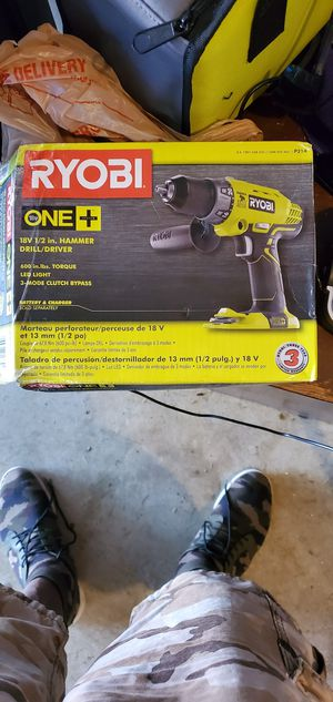 Ryobi 18v power drill for Sale in Conley, GA