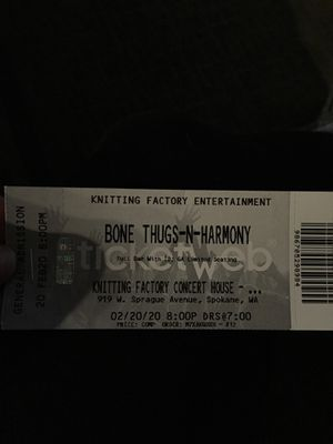 Bone Thugs and Harmony tickets for Sale in Spokane, WA