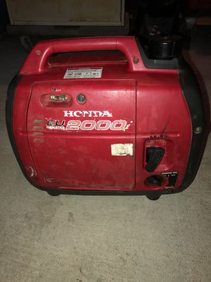 Honda 2000i Generator (just serviced) for Sale in Tracy, CA