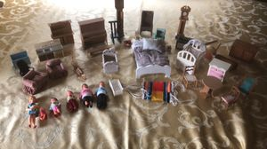 Doll furniture and dolls for Sale in Damascus, OR