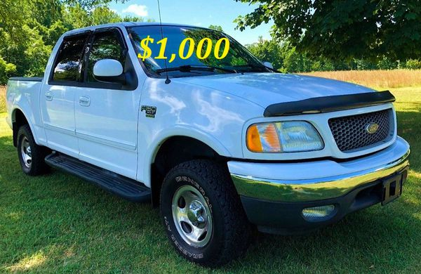 URGENT $1,000 I'm the first owner and i want to sell my 2002 Ford F-150 XLT