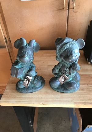 Mickey and Minnie figurines for Sale in Yorba Linda, CA