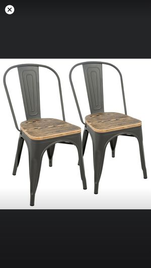 ISO 6 chairs like this for dinning table for Sale in Visalia, CA