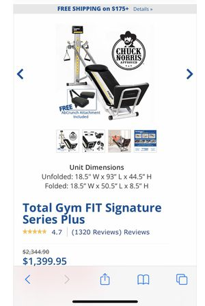 Total Gym Training Deck for Sale in Irvine, CA