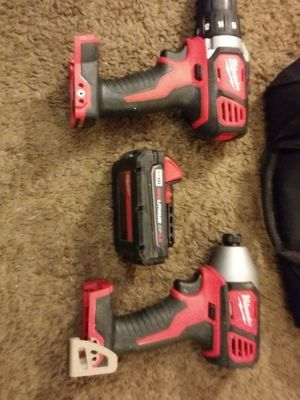 Milwalky cordless drills for Sale in Trenton, OH