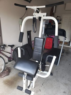 5-n-1 Home Gym System w/Weights for Sale in Frisco, TX