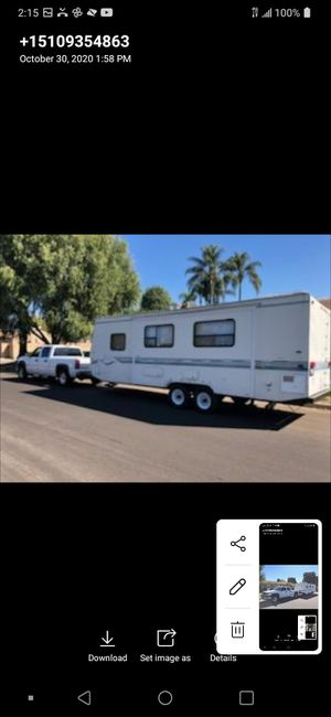 Trailer and truck for Sale in Pomona, CA