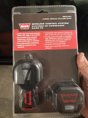 Warn winch wireless controller for Sale in Los Alamitos, CA
