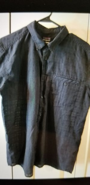 Mens Patagonia Short Sleeve Button Up - SZ M for Sale in Chandler, AZ