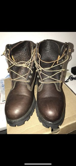 Timberland Premium Rusty Brown Leather 6 Inch Mint Condition Size 10 Men's for Sale in Houston, TX