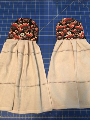 Handmade fall kitchen towel set for Sale in New Braunfels, TX