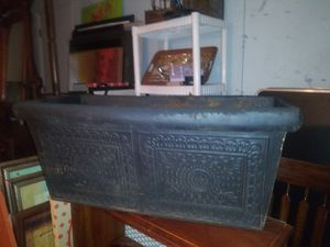 Foam rectangular planter pot 12 inches tall x 26 long x 12 wide for Sale in Stafford, TX