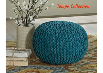 NEW, Nils Teal Pouf, SKU# A1000373 for Sale in Westminster,  CA