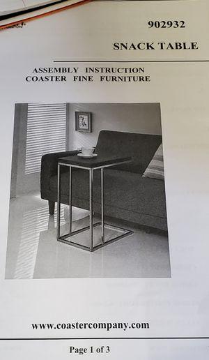 Coaster SNACK TABLE for Sale in McDonough, GA