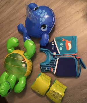 Kids life jacket and toys for Sale in Chandler, AZ