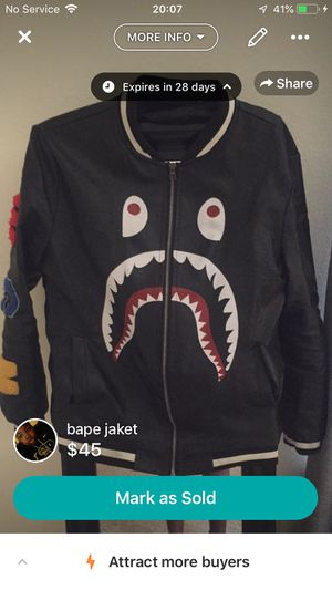 Bape jacket for Sale in Durham, NC