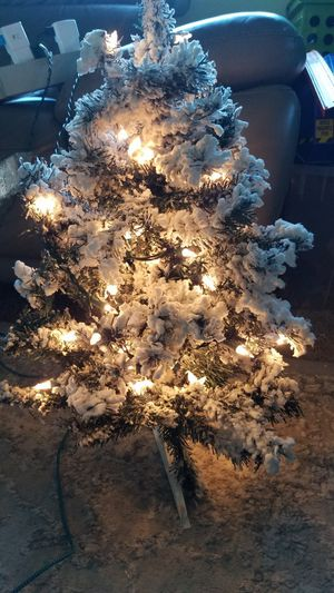 Pre lit Christmas tree 2 feet for Sale in Everett, WA