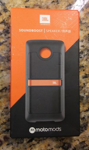 MotoMod JBL soundboost for Sale in Honolulu, HI