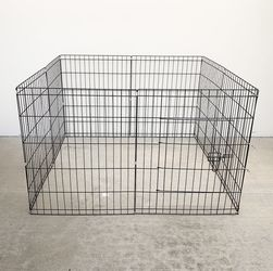 "$35 New In Box 8-Panel Dog Playpen, Each Panel 30"" Tall X 24"" Wide Metal Pet Gate Exercise Fence Crate Kennel for Sale in Whittier,  CA"
