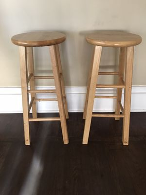 Wooden Kitchen/Bar Stools for Sale in San Diego, CA
