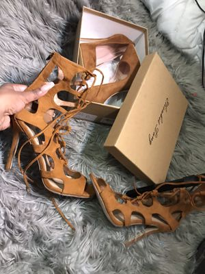 Cognac heels for Sale in San Antonio, TX