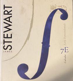 Calculus Stewart 7th Edition for Sale in Farmington,  UT