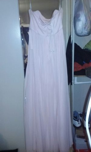 Bridal dress....light pink for Sale in West Palm Beach, FL