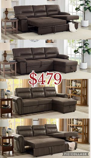 Sectional sofa bed couch, sofa bed, sofa, couch for Sale in Los Angeles, CA