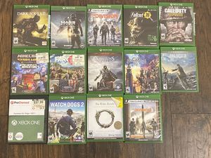 Game collection. Prices Vary. for Sale in Chino Hills, CA