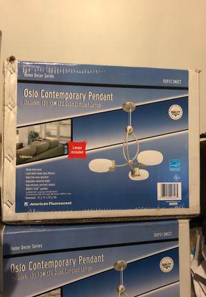 Oslo Contemporary pendant Home Decor Series American fluorescent chandelier for Sale in Chicago, IL