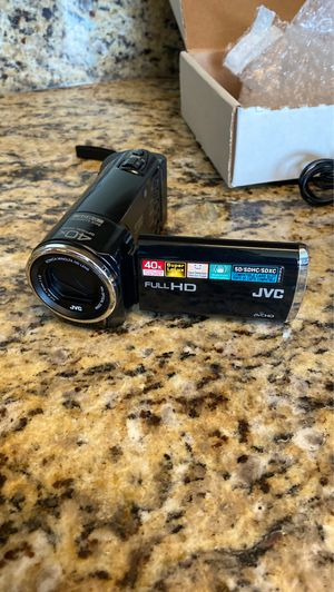 JVC Everio Full HD Camcorder for Sale in St. Petersburg, FL