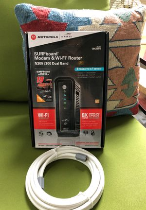 Motorola SURFboard Modem and Router for Sale in Portland, OR