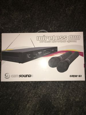 Wireless dual microphones for Sale in Fresno, CA