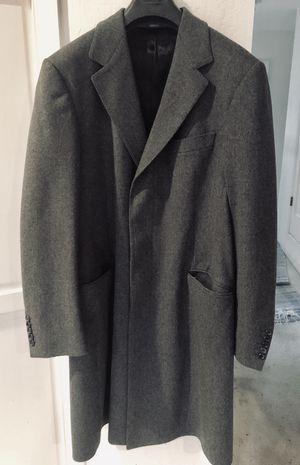 Men's WARM Gucci Wool Grey Overcoat Jacket for Sale in San Francisco, CA