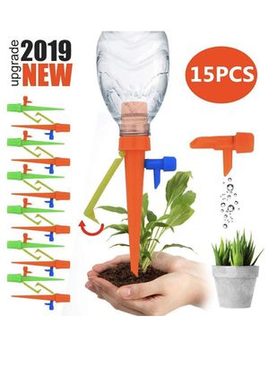 15Pcs Plant Watering Spikes Self Watering Devices with Slow release water flow for Sale in Concord, NC