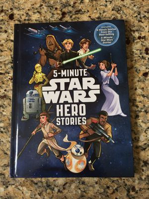 5 minute Star Wars hero stories. Excellent condition. Asking $3 for Sale in Glendale, AZ