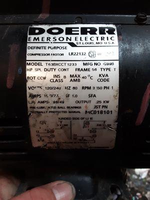 Doer compressor motor for Sale in Tulsa, OK